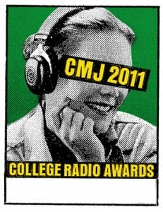 CMJ 2011 Awards Poster