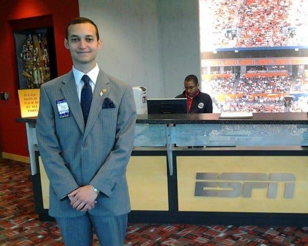 Adam K. Moussa interviews at ESPN
