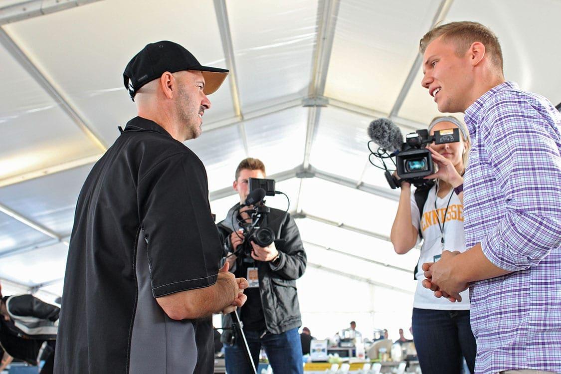 Jake Albright interviews Mike McCloud