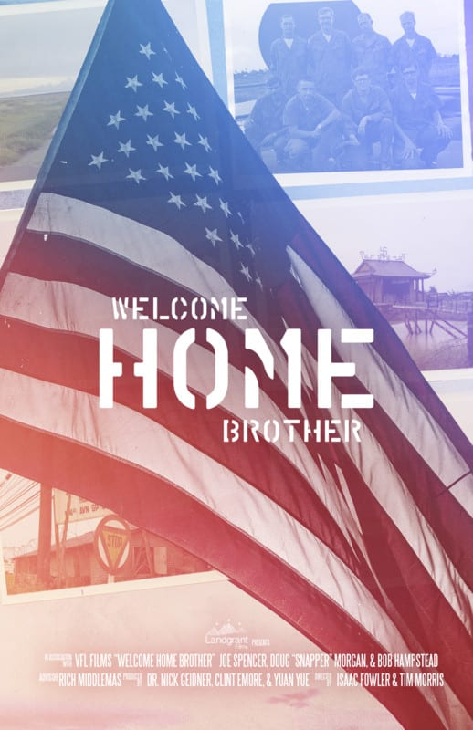 Promotional Poster for the student film Welcome Home Brother. Provided by Land Grant Films.