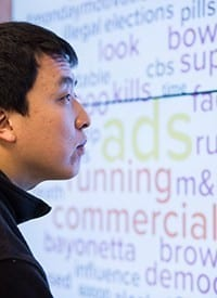 Zhang examines popular words associated with the Super Bowl.